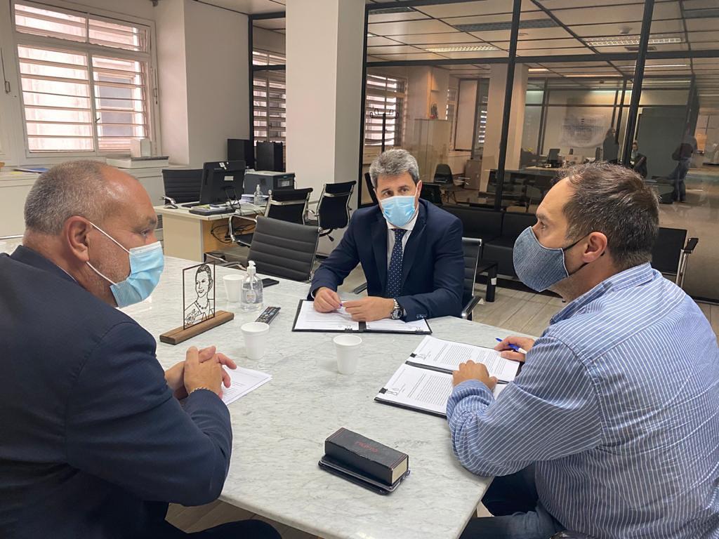El gobernador Uñac desarrolló una intensa agenda en Buenos Aires