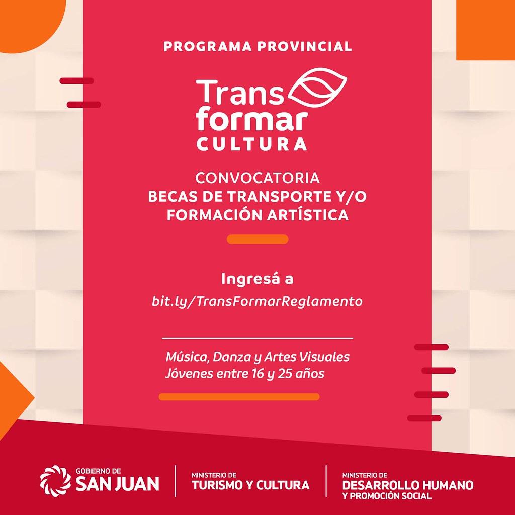 TransFomar Cultura, un programa que busca potenciar el talento de los jóvenes